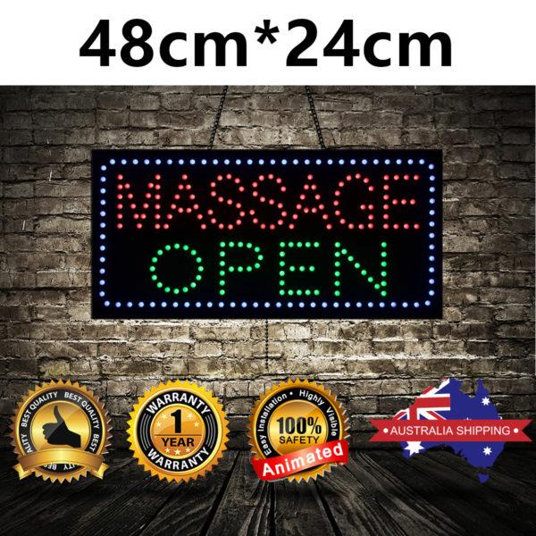 Animated-LED-NEON-Motion-Flash-Open-Sign-MASSAGE-OPEN-3-SIZE-48CMX24CM