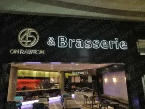 sydney_led_signs_illuminated_letter_sign_for_brasserie