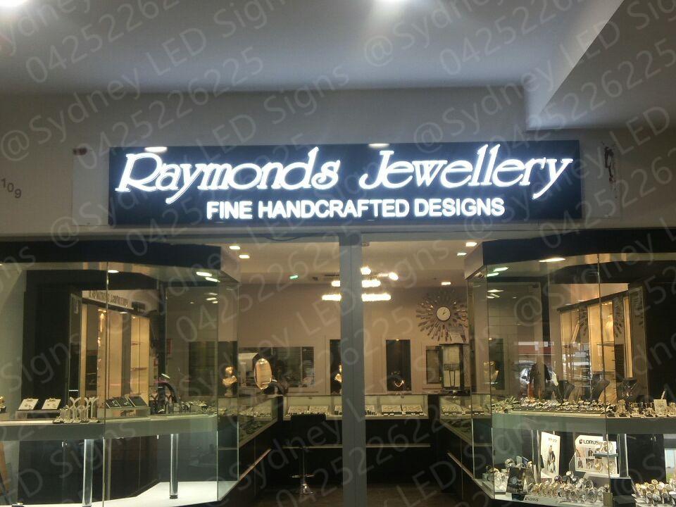 sydneyledsigns_Raymonds_Jewellery_3d_illuminated_letters_for_luxury_shop_2_3
